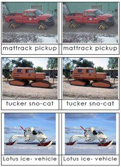 Transportation on Antarctica