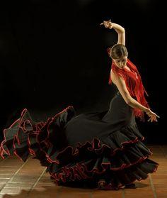 Flamenco dancer, photo by William Morton at Studio J