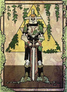 The Hero's Shade - Gravure for The Legend of Zelda: Twilight Princess