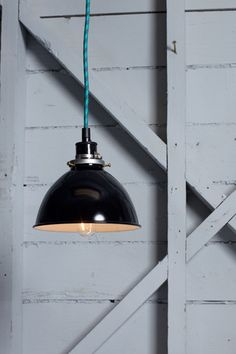 Metal Shade Industrial Pendant | Industrial Light Electric hand crafted lighting, made to order, Industrial Modern Lighting, Vintage Industrial Style Lights with a Modern Design