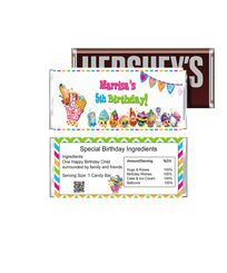Cute Shopkins Birthday Candy Bar Wrappers Season 2