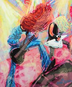 Rockabilly, Historia Do Rock, Metallica Art, Queen Drawing, Cliff Burton, Ride The Lightning, Heavy Metal Music, Music Artwork, Thrash Metal