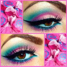 .@BEETA BEAUTY | Valentines day inspired by #cottoncandy steps will be posted on Facebook.com/...