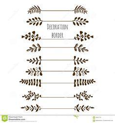 Resultado de imagen para decoracion de hojas para cartas - Hojas de decoracion ...