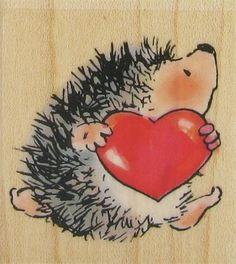 Penny Black - Hedgehog Heart