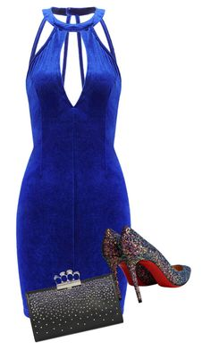 """""""Untitled #522"""" by leehyena on Polyvore featuring Christian Louboutin and Alexander McQueen"""