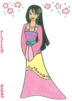 DeviantArt.com mulan | AT-Princess Mulan by AnneMarie1986