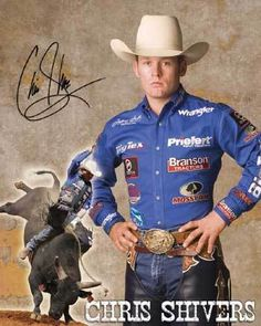Chris Shivers (born December 30, 1978 in Natchez, Mississippi) is a former bull rider on the Professional Bull Riders' Built Ford Tough Series. Shivers turned pro in 1997, and earned the title of PBR World Champion Bull Rider in 2000 and 2003.