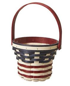 Summer Bouquet Basket. i [heart] the USA! www.longaberger.com/mariawhite
