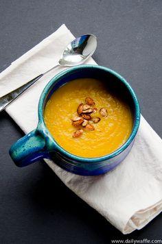 Butternut Squash Soup | Butternut Squash Soup, Butternut Squash ...