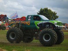 Monster Truck Madness, Big Monster Trucks, Monster Truck Party, Monster Jam, Lifted Trucks, Big Trucks, Ford Trucks, Master Truck, Truck Videos For Kids