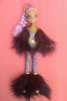 Monster High Doll Clawdeen Wolf Ghouls Rule with clothing #Mattel #DollswithClothingAccessories