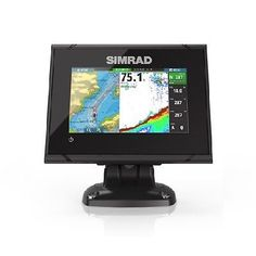 Charts and Maps 179987: Simrad 000-12675-001 Go5 Xse 5 Plotter With Totalscan Transom Mount -> BUY IT NOW ONLY: $569 on eBay!