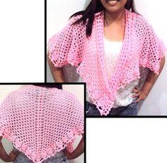Mi Amor Shawl  PDF Crochet Pattern by rachelscrochet on Etsy, $4.95