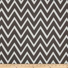 Swavelle/Mill Creek Indoor/Outdoor Zapallar Chevron  Charcoal from @fabricdotcom  Screen printed on polyester, this fabric holds up to 500 hours of sunlight exposure, resists stains and is water resistant.  Create chair pads, toss pillows, tabletop and tote bags. To maintain the life of the fabric bring indoors when not in use. This fabric can easily be cleaned by wiping down or hand washing with warm water and a mild soap solution, simply rinse with clear water to prevent dirt from ...