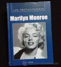 BIOGRAFÍA DE MARILYN MONROE - PROTAGONISTAS ACTRIZ EEUU - CINE VIDA Marilin Marylin Monro Marylin Monroe, Antique Books, Book Collection, History, Ebay, Books, Movies, Artists, Argentina