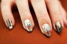 Proenza Schouler Fall 2012 Nail Art