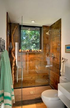 guest bathroom. Love the window but I would make it a bit smaller.