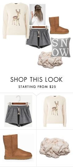 """""""Sleigh Girl Sleigh"""" by summer-anderson-i on Polyvore featuring Dorothy Perkins, UGG and Lexington"""