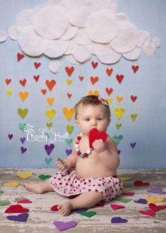 6 Month Old Photography - Valentine's Day