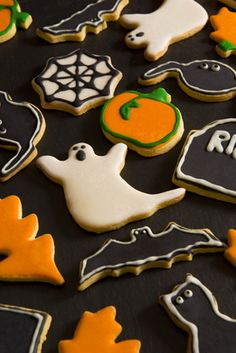 Spooky Cookie | Halloween Cookie Decorations