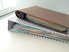 Scrapbooking ~ 5 Tips for Getting Started:  #2 Choose Your Album Size