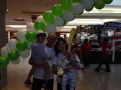 Dr. Moray, Dr. Kwon and their beautiful boys participate in the St. Jude's Give Thanks. Walk. at Crabtree Mall in Raleigh, NC in 2013.