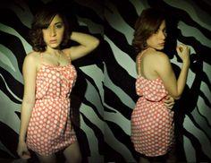 Baby cream Pieza/ V-004 tallas: S-M T/tela- Rayón Alemán  Colección Twee  Casual vestido diario se ajusta a la cintura  Añade este vestido a tu guardarropas!!! Mágicos estampados