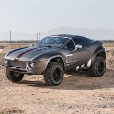 Rally Fighter looks like a race car, but rides like a luxury vehicle, featuring a rugged tube chassis construction complemented with all the requisite creature comforts. This 50state street legal offroad desert racer is at home on the open road, the daily commute, and on the most challenging desert terrains. The Rally Fighter by Local Motors is truly the ultimate expression of power, performance and prestige.