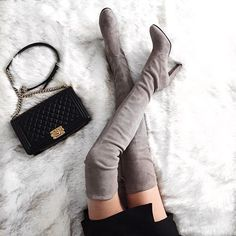 These boots were made for... everything. | Available at http://www.milahills.com/
