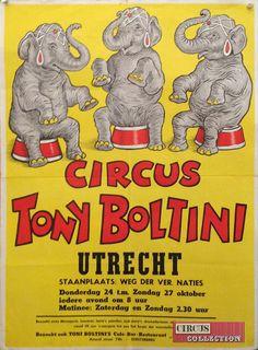 Circus collection: Cirkus Tony Boltini 1962