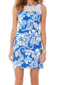Lilly Pulitzer Marianne Shift Dress- Was $218, Now $89