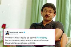 Ram Gopal Varma's ridiculous and pointless rant continues on twitter, this time he targets Women's day – check tweets #FansnStars