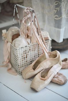 a7a0ff555b54 Well worn ballet shoes~ Pointe Shoes