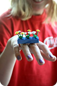 Lego rings...