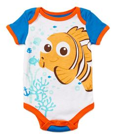 Another great find on #zulily! Blue Finding Nemo Bodysuit - Infant #zulilyfinds