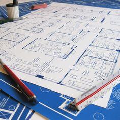 Mad Men Office 37th Flr 13x19  by Fantasy Floorplans