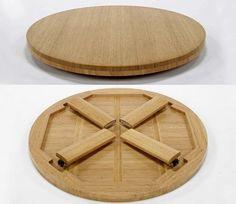 Japanese Round Folding Table, Chabudai