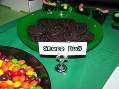 Teenage Mutant Ninja Turtles Birthday Party Ideas | Photo 1 of 39 | Catch My Party