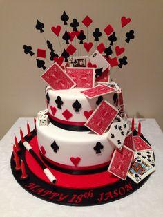 Magic themed birthday cake!