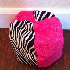 """Bean Bag Chair for 15""""- 18"""" Dolls"""