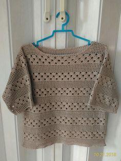 Rita Wong's media content and analytics Crochet Hood, Gilet Crochet, Crochet Cardigan, Crochet Motif, Knit Crochet, Easy Crochet Patterns, Knitting Patterns, Crochet Woman, Silk Ribbon Embroidery