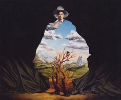 José Roosevelt - Figure Dressed with a Landscape (1989)