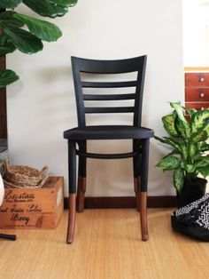 DIY Dipped Furniture: A Roadside Chair Makeover | House Nerd