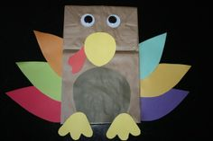 Preschool Crafts for Kids*: Thanksgiving….it was a cute craft at a Daisy Scout meeting. The girls wrote what they were thankful for on the feathers.