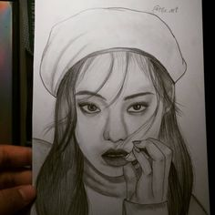 Pencil Sketch Drawing, Kpop Fanart, Fan Art, Drawings, Artworks, Fanart, Sketch, Portrait, Drawing