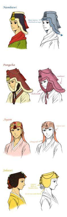 여자용 겨울 모자 Women's Winter Hats by Glimja on deviantART