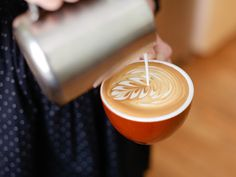 Like everything else coffee-related, mastering latte art ain't easy. (Thank heavens for that, because if it were I'd be out of a job.) Here's a little primer to get you started.
