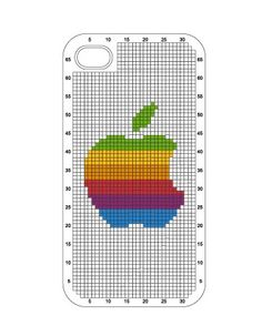 I love the cross stitch iPhone cases from connect design. This is my favorite pattern.