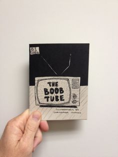 The Boob Tube Zine  Issue no. 1 by monstersoutside on Etsy, $5.00